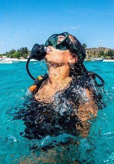 Beach Aesthetic, Summer Aesthetic, Travel Aesthetic, Scuba Girl, Marine Biology, Summer Dream, Beautiful Places To Travel, Hawaii Life, Summer Goals
