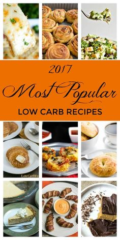 Many people decide to ditch the carbs at the start of the new year to shed all of those unwanted holiday pounds, so let's take a look at some of the best low-carb recipes from last year.Most people think of diets as restrictive, but when you follow an eating plan that's low in carbohydrates, it [...]