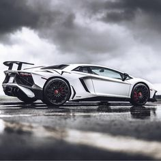 Lamborghini Aventador Super Veloce Coupe painted in Matte White Photo taken by: @guywithacamera415 on Instagram (@bayareanady on Instagram is the owner of the car)