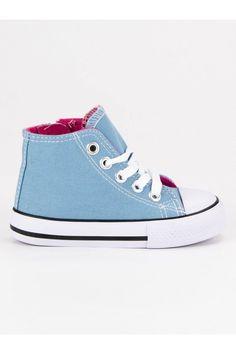 Modré plátenky pre deti CnB Chuck Taylor Sneakers, Chuck Taylors, Shoes, Fashion, Moda, Zapatos, Shoes Outlet, Fashion Styles, Shoe