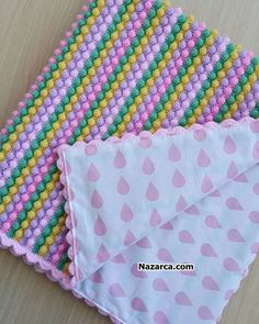 nup-model-renkli-battaniye Source by sbakrt Knitted Baby Blankets, Baby Blanket Crochet, Crochet Baby, Baby Knitting Patterns, Stitch Patterns, Personalized Baby Blankets, Crafts, Crochet Box, Crocheted Afghans