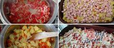 Španělská frittata - oběd z jednoho pekáče Frittata, Potato Salad, Grains, Rice, Potatoes, Vegetables, Ethnic Recipes, Author, Red Peppers