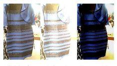 La explicación de la ciencia para el vestido azul y negro o blanco y dorado