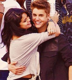 selena what are you doing hugging my boyfriend..?