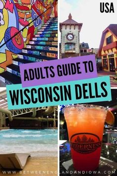 Tips And Things To Do In Wisconsin Dells For Adults! From the Wisconsin Dells indoor waterparks, what it's like staying at the Wilderness Resort, ideas for the Wisconsin Dells in winter and some of the best Wisconsin Dells restaurants! Wisconsin Dells Restaurants, Wisconsin Vacation, Wisconsin Getaways, Wilderness Resort Wisconsin Dells, Zipline Tours, Stuff To Do, Things To Do, Madison Wisconsin, Family Resorts
