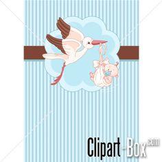 CLIPART BIRTH CARD