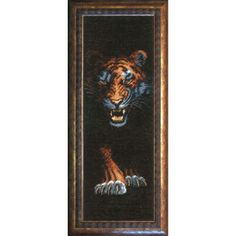 Tiger  - Cross Stitch Kit with Color Symbolic Scheme @eBay #crossstitchkit