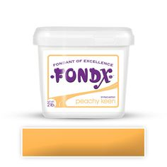 Peachy Keen FondX Rolled Fondant Icing perfect for cake decorating fondant wedding cakes and fondant birthday cakes and cupcakes.  | CaljavaOnline.com #caljava #fondx #fondant