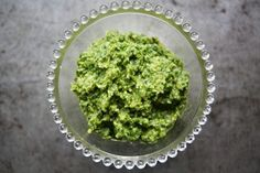 Walnut Parsley Pesto: walnuts, parsley, pecorino/parmesan, garlic, salt, olive oil.   Finally a good way to use up some parsley from my garden!