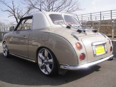 Nissan Figaro- nice curves on such a small car