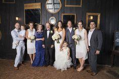 Great backdrop for family photos! Krista Lee Photography: Janan + Brad / Elegant Summer Wedding at Cedarwood, Nashville TN #rustic #wedding #photo #kristaleeweddings #cedarwoodweddings