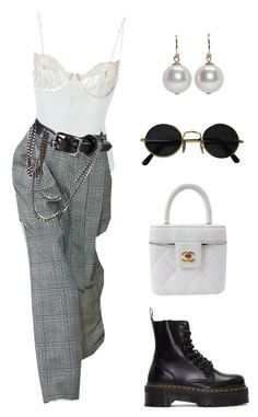 A fashion look from April 2017 featuring white top, platform booties and white purse. Browse and shop related looks. 2000s Fashion, Teen Fashion Outfits, Stage Outfits, Edgy Outfits, Cute Casual Outfits, Fashion 101, Mode Outfits, Retro Outfits, Look Fashion