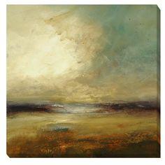<li>Artist: Lisa Ridgers</li><li>Title: New Land</li><li>Product Type: Canvas Art</li>