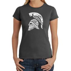 Los Angeles Pop Art Spartan Graphic T-Shirt