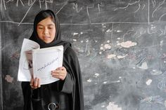 """Afghanistan is at a crossroads. Six million children, """"half the nation's number and more than ever before"""" are now enrolled in school. An amazing 1/3 of them are girls, whose education has traditionally been undervalued and restricted. Credit: Peter Biro/ The IRC"""