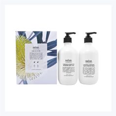 Salus Hand Rescue Duo - These are generous portions (500mL) each of Tuberose & Grapefruit Hydrating Handwash and a Lavender & Mandarin Hand & Cuticle Cream. Beautifully packaged in a box featuring native Australian flowers, available now at I Still Call Australia Home