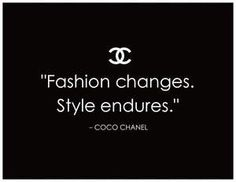 -Coco Chanel fashion quotes