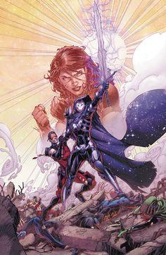 Titans #18 Cover