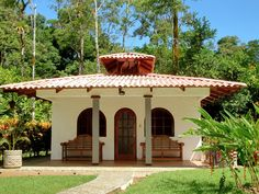 What we have at the hotel Corcovado National Park, Gazebo, Pergola, Luxury Accommodation, At The Hotel, Tropical Garden, Costa Rica, Acre, Outdoor Structures