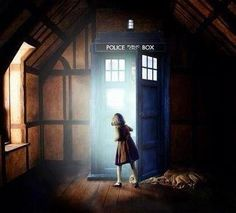 What if the Wardrobe was a very early version of the TARDIS with a working chameleon circuit causing it to blend into its surroundings as an old wardrobe?   Mind = blown