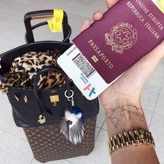 Pin for Later: 27 Things You Didn't Know About Style Star Chiara Ferragni Chiara Enjoys Traveling So Much, She Has a Map Tattoo