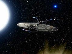 Enterprise J Sirius Anomaly by awe-inspired on DeviantArt Star Trek Bridge, Star Trek Generations, J Star, Star Trek Images, Star Trek Characters, Spaceship Art, Star Trek Starships, Star Trek Universe, Star Trek Ships
