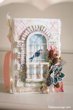 mini album shabby chic
