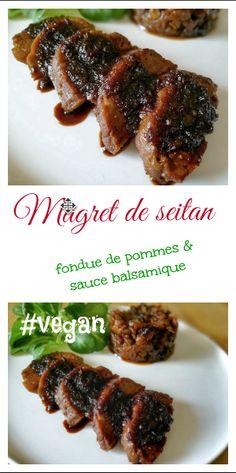 Seitan Recipes, Veggie Recipes, Vegetarian Recipes, Entree Vegan, Menu Vegan, Vegan Food, Healthy Holiday Recipes, Delicious Vegan Recipes, Vegan