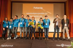 A group portrait of the local organizers of #mm15it #meetmagento Meet Magento IT _MG_4988 | Flickr - Photo Sharing!