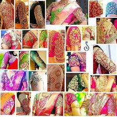 Are you looking for bridal blouse designs for pattu sarees? Here is the photo collection of silk saree blouse designs designs available read more. Indian Blouse Designs, Wedding Saree Blouse Designs, Pattu Saree Blouse Designs, Simple Blouse Designs, Blouse Back Neck Designs, Saree Blouse Patterns, Blouse Neck, Dress Designs, Kurti Patterns