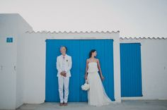 """If I had to describe this wedding with only two words, I'd chose """"beauty"""" and """"joy"""". And you will see why... The Gioia and Justin have been vacationing on the island of Formentera since the very beginning of their relationship, and Gioia calls it """"home number two"""". So when it came to making the decision of where to celebrate their love, they knew it couldn't be anywhere else, not London (where they live), not Italy (where the bride is from), not New Zeala..."""