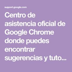 Official Chrome Web Store Help Center where you can find tips and tutorials on using Chrome Web Store and other answers to frequently asked questions.