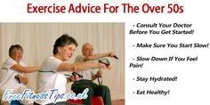 If you're over 50 and are thinking about starting an exercise routine, make sure you follow these tips.