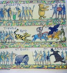 Winnie the Pooh does the Battle of Hastings