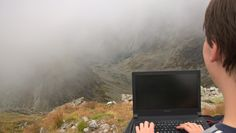 Jahňací šťít in Slovakia: Detached office #hiking #camping #outdoors #nature #travel #backpacking #adventure #marmot #outdoor #mountains #photography