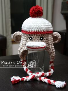 14 Best Crochet Bear Hats images  51456c26fd36