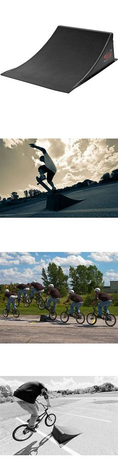 Ramps and Rails 91565: 1-Large Skateboard, Bmx And Snowboard Big Air Trick Launch Ramp Jump BUY IT NOW ONLY: $99.99