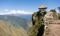 Machu Picchu Mountains: Getting Up and Away