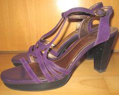 * * * TOD S Plateau-Sandaletten violett, Gr.39,5 * * *