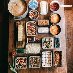 1,027 個讚,40 則留言 - Instagram 上的 まめジャム(@ma_me_jam):「 FOODPREP☆今年は大豆2kg分のお味噌を仕込みましたお味噌を仕込みながら作り置きも。疲れた( ̄▽ ̄) ・… 」