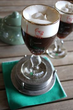 Irish Coffee Recipe - Awake at the Whisk Irish Luck, Blarney Stone, Food Dye, Irish Coffee, Irish Traditions, Irish Recipes, Emerald Isle, Greens Recipe, Corned Beef