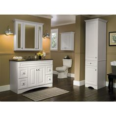 Pics Of Shop Style Selections D VSDB Northrup in x in White Bathroom Vanity