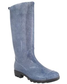 Capelli New York Denim Printed Ladies Basic Body Jelly Rain Boot Capelli New York. $19.95. Waterproof. Made in China. Upper: PVC; Outsole: PVC. Height: 340MM. Basic Body
