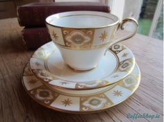 Aynsley Belmont Vintage China Cup Trio
