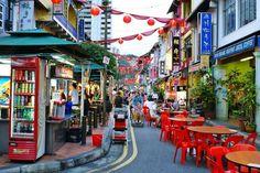 Район Чайна-таун (Chinatown)