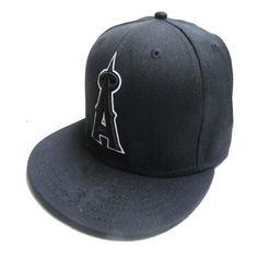 6ad33a396ec392 ... cheapest wholesale los angeles angels fitted caps a letter embroidery  baseball cap flat brim 138bb 60dfa ...