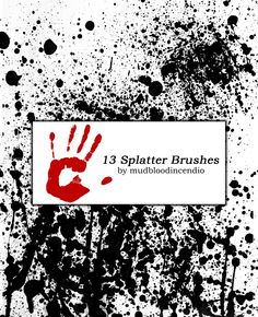 Spray Paint 5 - Download  Photoshop brush http://www.123freebrushes.com/spray-paint-5-2/ , Published in #GrungeSplatter. More Free Grunge & Splatter Brushes, http://www.123freebrushes.com/free-brushes/grunge-splatter/ | #123freebrushes