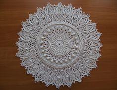 Momentous Occasion lace crochet mat by Patricia Kristoffersen