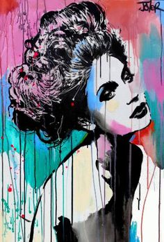 "Saatchi Art Artist Loui Jover; Painting, ""into dreams"" #art"