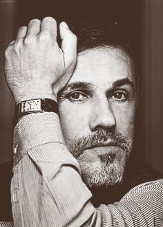 Christoph Waltz - I admire him as an actor so very much.